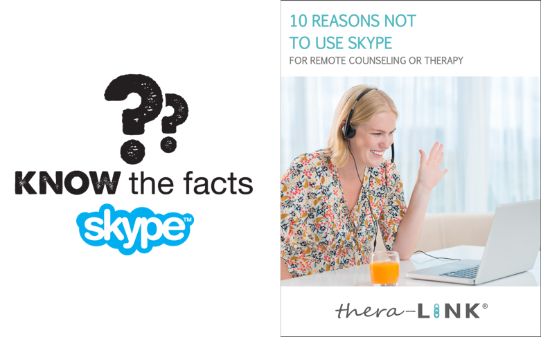 10 Reasons Not To Use Skype for Therapy
