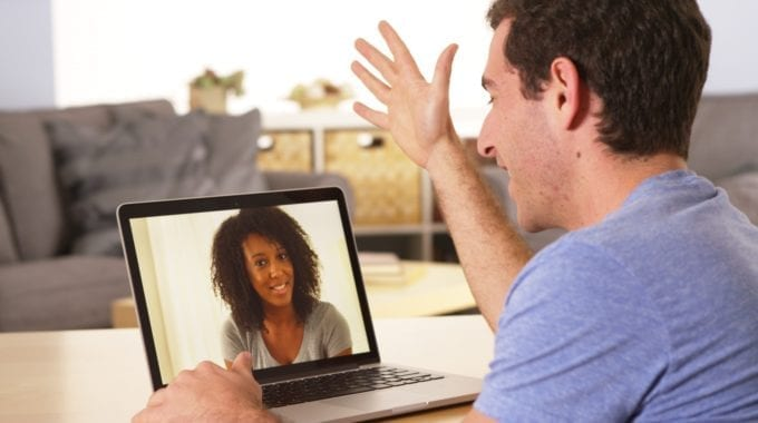 Laptop Video Call