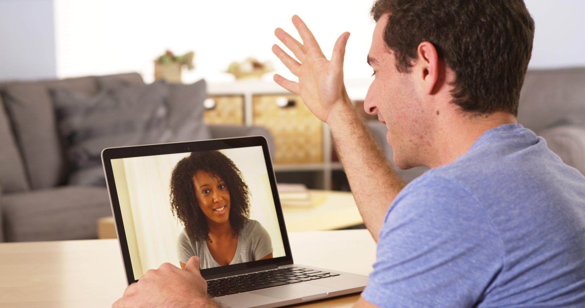 Laptop Video Call