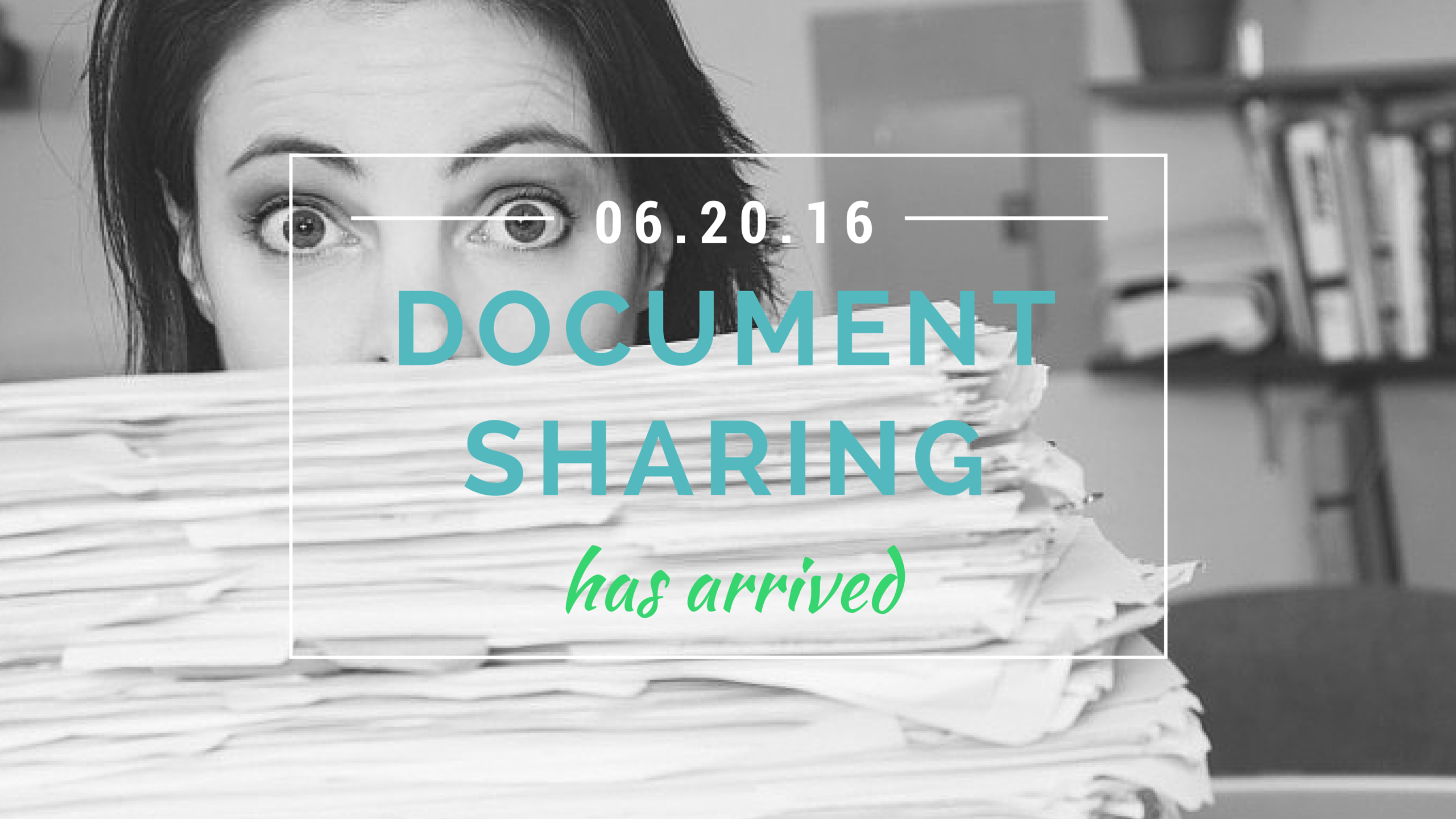 Document sharing released!