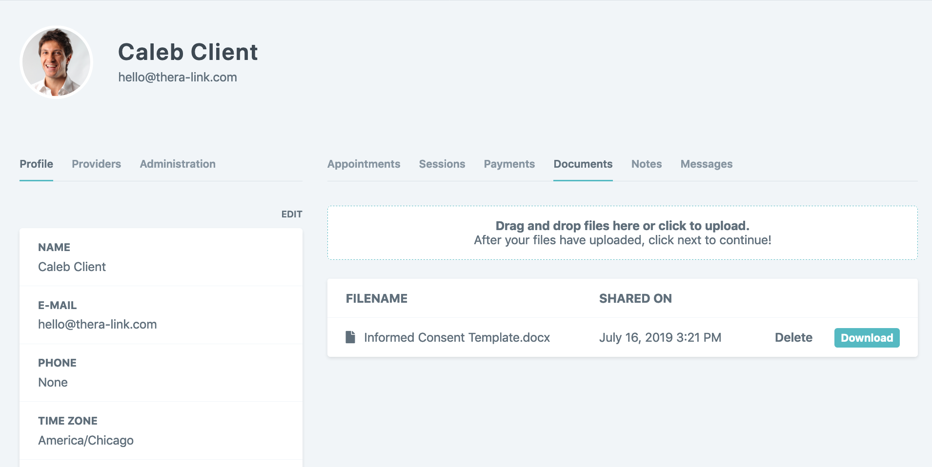 File Sharing Client
